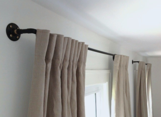 How to Hang a Heavy Curtain Rod in Drywall