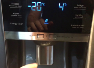 Refrigerator Control Panel not Working