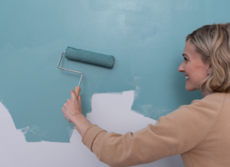 How to Remove Paint Roller Marks