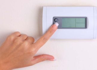Thermostat Display is Blank